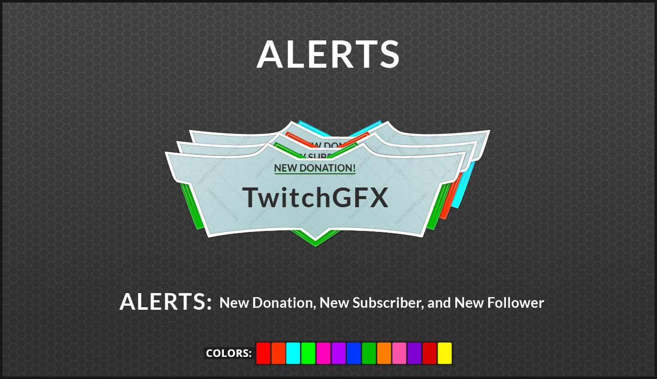 Pristine Alerts (Multi-Color)