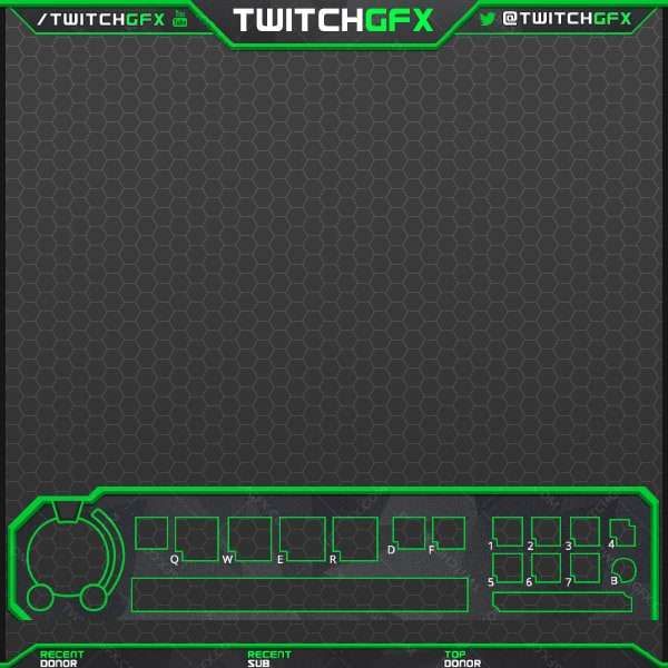 Granite Twitch Overlay (Multi-Color)